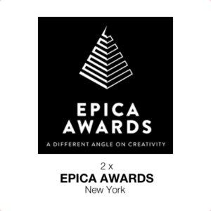 Holger Lietz - 2 x Gewinn des EPICA AWRDS, New York