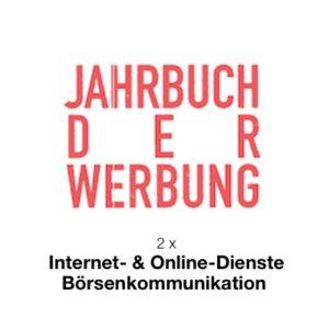 Holger Lietz - 2 x digitale Auszeichnung im Jahrbuch der Werbung